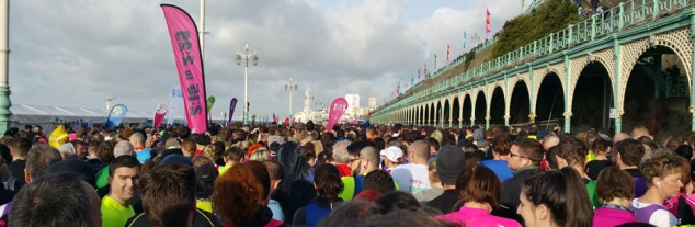 before race crowd